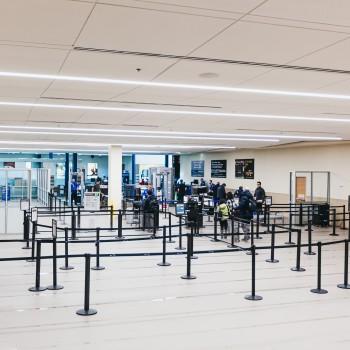 New TSA Checkpoint