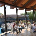 Crystal Bridges new cafe