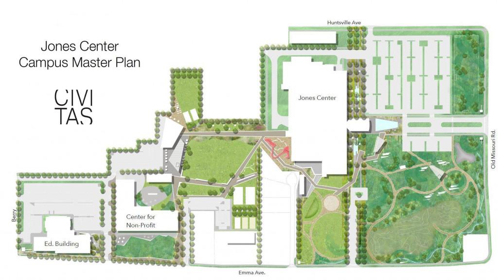 The Jones Center Design Plans
